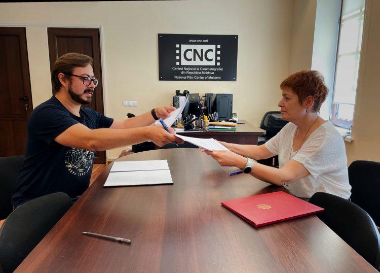 Acord de parteneriat între Centrul Național Cinematografic (CNC) Moldova și Asociația Companiilor de Creație din Moldova (COR)
