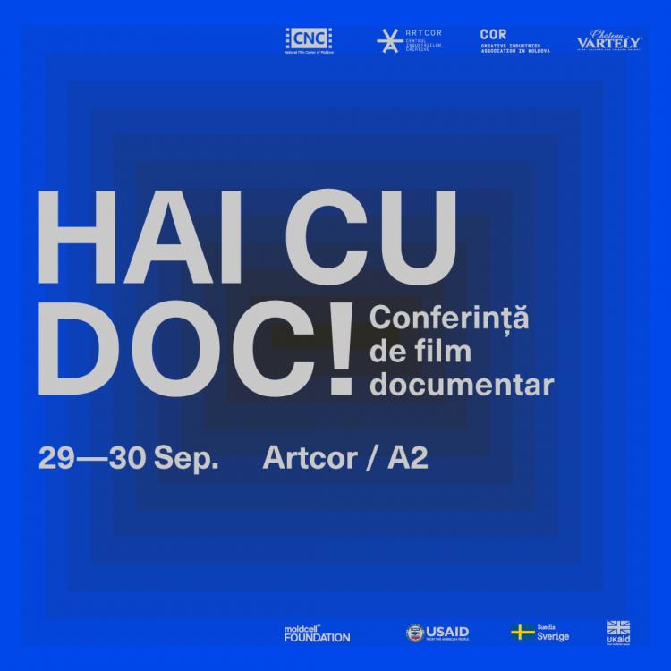 Hai cu Doc! - Eveniment motivațional pentru cineaștii documentariști, jurnaliști, reprezentanți mass-media și alți doc-goers!